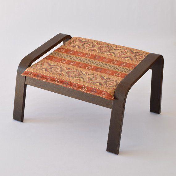 Ikea Poang Ottoman Footstool Fabric Cover F20