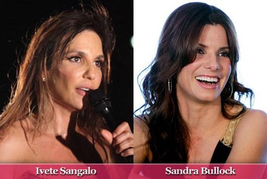 Ivete Sangalo and Sandra Bullock Sisters.
