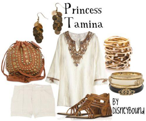 Princess Tamina | Disneybound | Pinterest | Disney, Summer ...