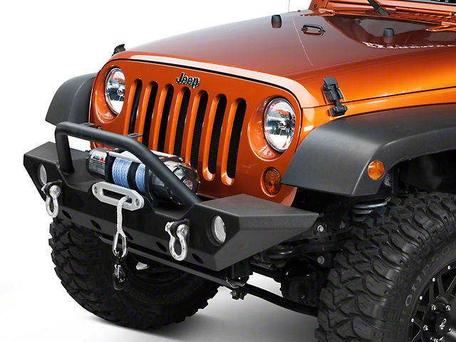 Barricade Trail Force HD Front Bumper 07 17 Wrangler JK