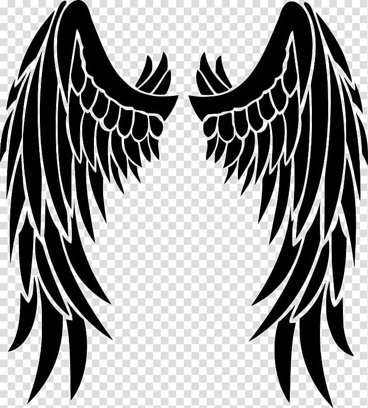 Stencil Angel Drawing Angel Wings Transparent Background Png Clipart Angel Wings Clip Art Angel Wings Drawing Angel Wings Illustration