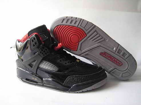 Air Jordan Spizikes Black Blue