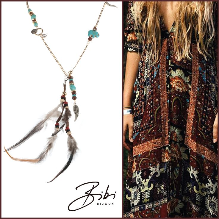 Feather necklace by #bibi. You have also the option to take the feather off. The necklace can worn at two ways. Shop now: http://bibibijoux.com/index.php/bibibijouxwebstore/necklace/03622.html Shorter variant also available! See here: http://bibibijoux.com/index.php/03623.html Bibi Bijoux​ #bibi #bijoux #bibibijoux #handmade #lifestyle #fashion #sisters #scheveningen