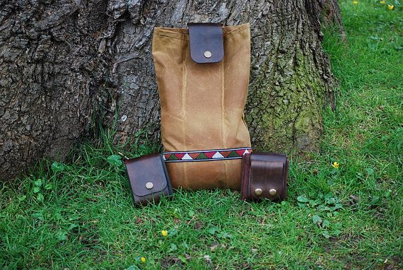 Bushcraft Foraging Belt Bag by BushcraftMercantile on Etsy