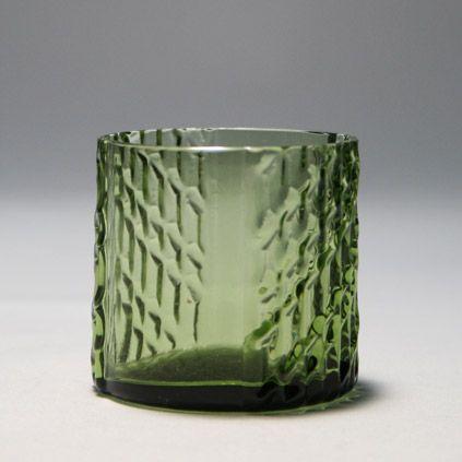 Nanny Still; Glass 'Flindari' Tumbler for Riihimäen, 1963.