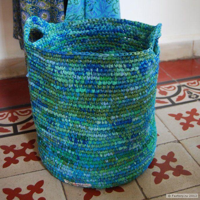 Идеи из пластиковых пакетов