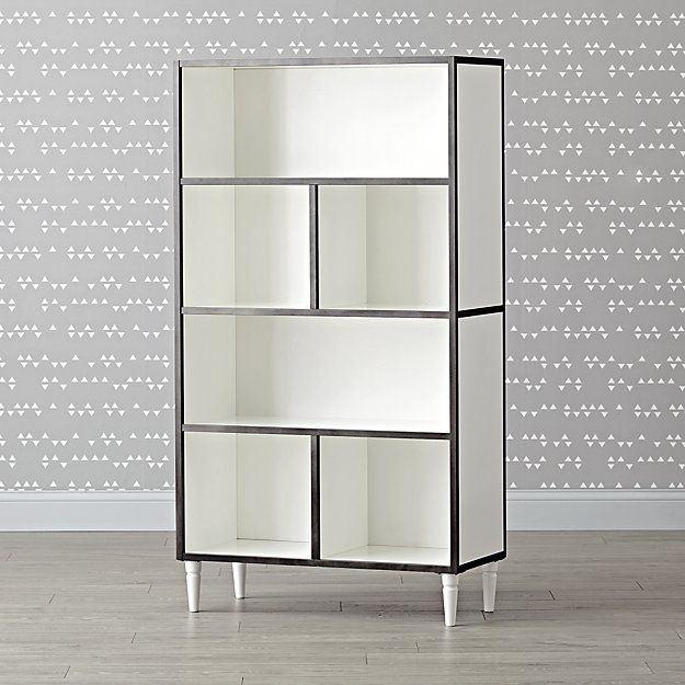 Shop Tall Metal and Wood Bookcase.  Expertly constructed to last your family for years to come, our Fulton Street Tall Bookcase is a work of true craftsmanship.