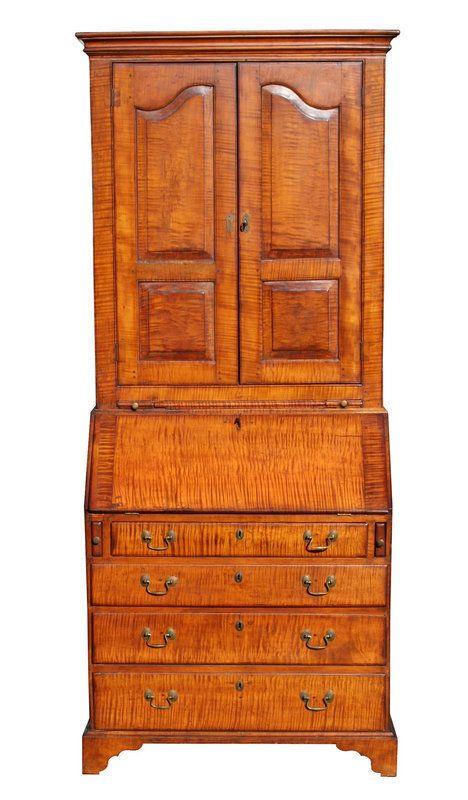 248 Best Images About Tiger Maple On Pinterest Queen Anne Auction And Blanket Chest