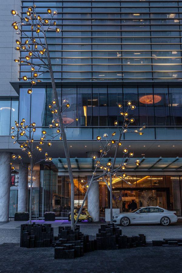 Bocci unveils mesmerizing forest like installation for Design hotel f 6 genf