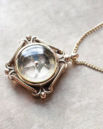 would love a compass necklace! ya know, one that worked... haha