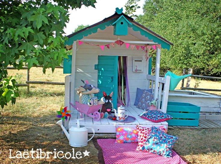 25 Best Ideas About Cabane En Bois Enfant On Pinterest