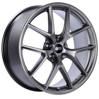 BBS CI-R - 20x10.5 Rim Size/ 5x114.3 Bolt Pattern/ ET39 Offset - Platinum Silver Polished Rim Protector Wheel - 82mm PFS/Clip Required (Fits 15+ Ford Mustang S550)