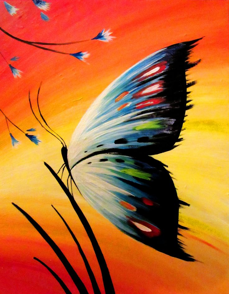 Best 25+ Butterfly painting ideas on Pinterest