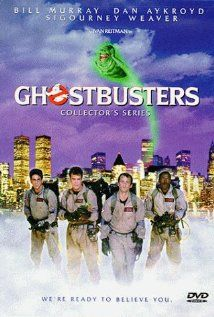 """""""Ghostbusters"""" (1984). Three unemployed parapsychology professors set up shop as a unique ghost removal service. Bill Murray, Dan Aykroyd, Sigourney Weaver, Harold Ramis, Rick Moranis, Annie Potts, William Atherton and Ernie Hudson."""