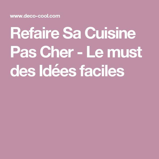 Les 25 meilleures id es de la cat gorie resine carrelage sur pinterest resi - Refaire sa cuisine a moindre cout ...