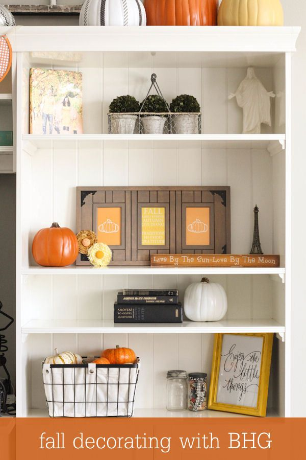 Fall decorating with bhg on lilluna best of