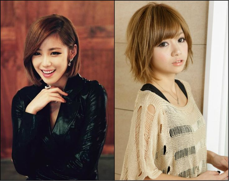 Asian Short Bob Hairstyles & Street-Style Looks   Hairstyles 2017, Hair Colors and Haircuts