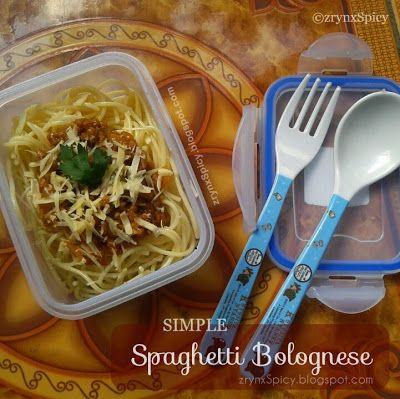 :: SIMPLE SPAGHETTI BOLOGNESE » zrynxspicy.blogspot.com/2015/04/simple-spaghetti-bolognese.html