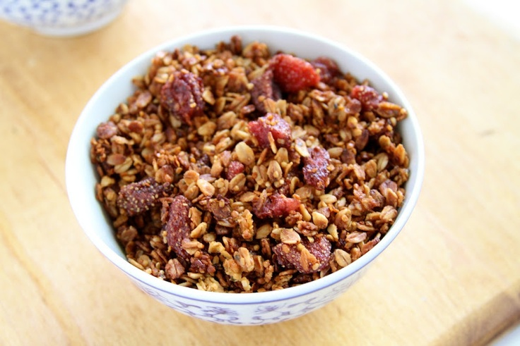 Strawberry Hemp Granola   Recipe   Hemp, Granola and Naturally Ella