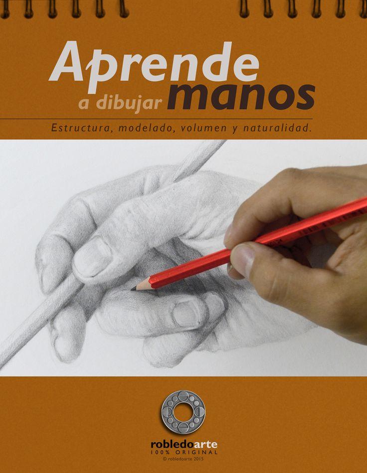 Dibujar manos puede ser fácil. Aprende cómo aquí: http://robledoarte.me/cursos/la-mano #drawing #draw #hands #howto #onlinecourses