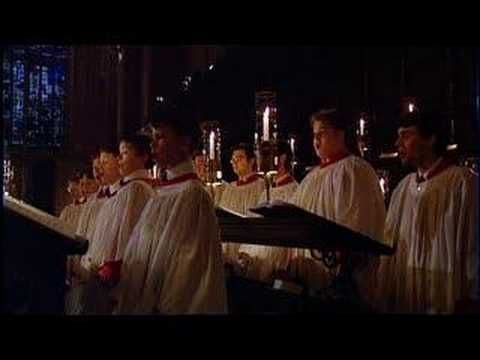 The Choir of King's College, Cambridge, sings the famous work at the televised version of the Nine Lessons and Carols, which is recorded several weeks before...