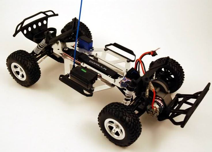 GorillaMaxx G1S Race Chassis for Traxxas Slash - Parts, bodies ...