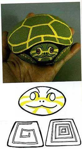 Como pintar piedras con forma de mariquita y tortuga (2)