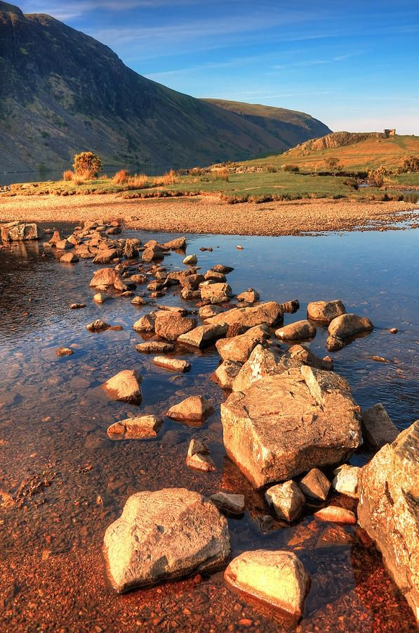 Jumping Stones By Svetlana Sewell Lake District Cool Places To Visit Lake Landscape