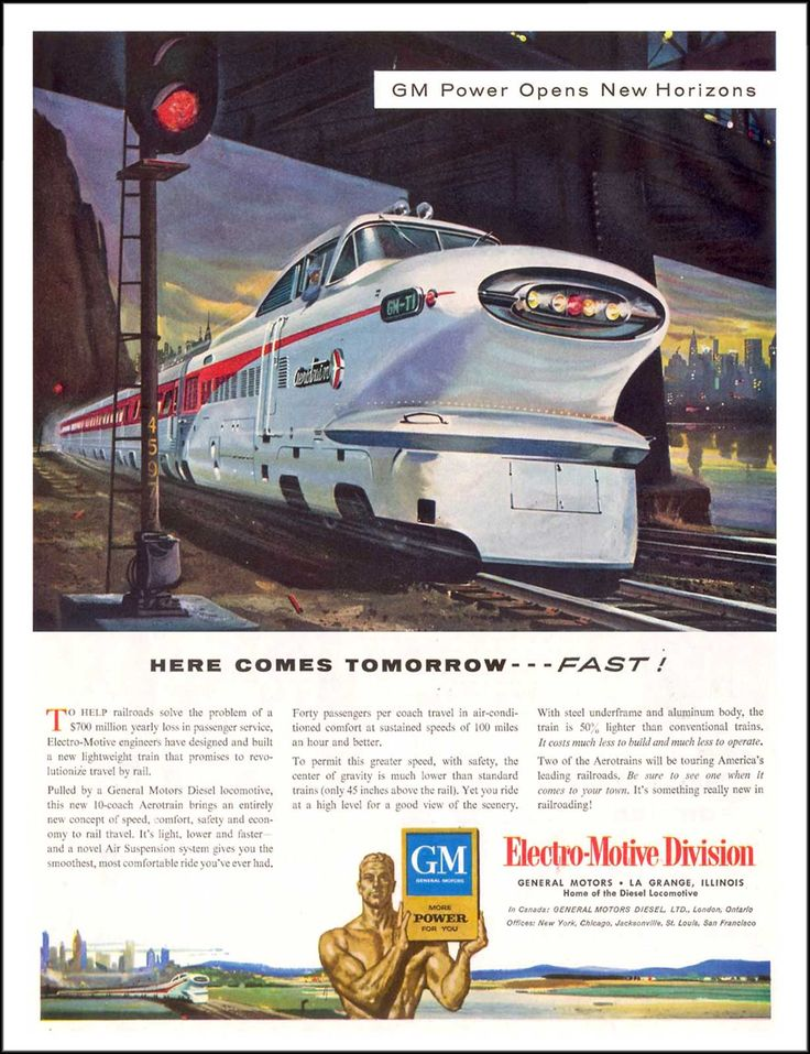Viewliner Ltd.: General Motors (EMD) Aerotrain