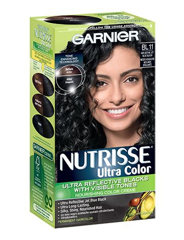 """I love this dye. Makes your hair super shiny blue black. I swear by this: """"Ultra Color BL11 - Reflective Jet Blue Black"""""""