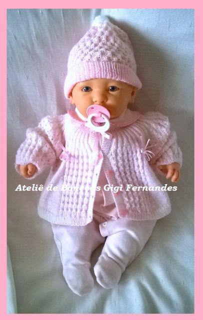Boneca bebê, da Cotiplas by Ateliê de Bonecas Gigi Fernandes