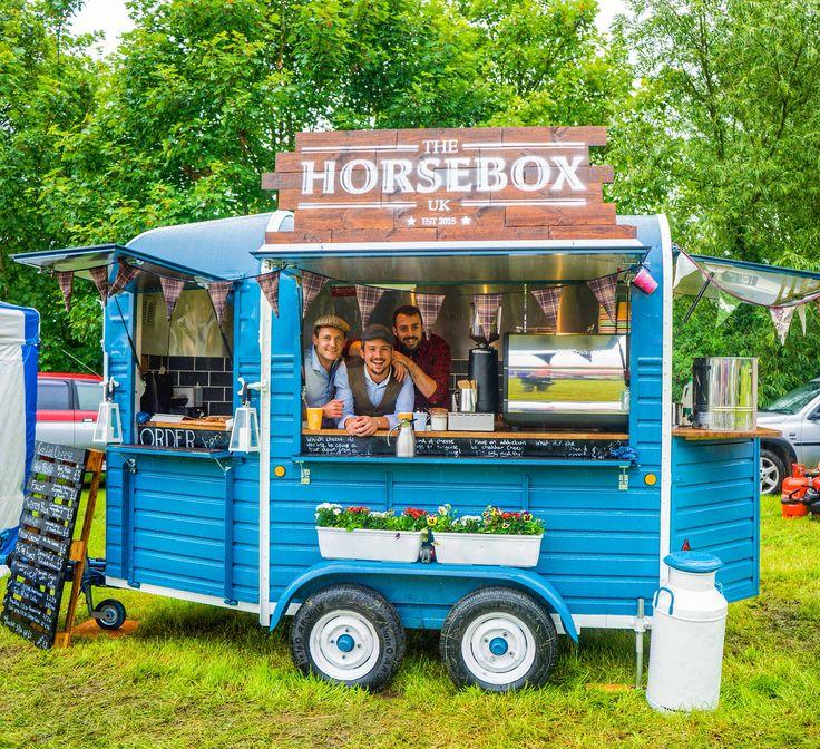 Horse Trailer Food Truck