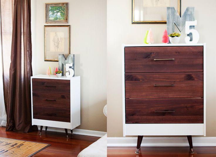 21 DIY Hacks to Upgrade the Look of an IKEA Rast Dresser