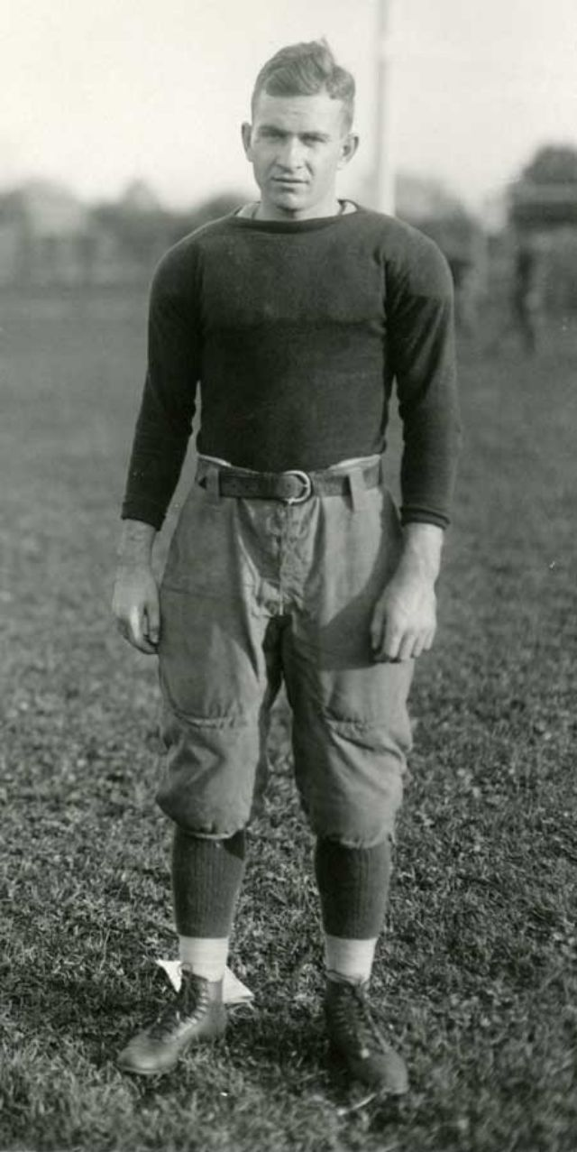 nice trousers on this early American football player