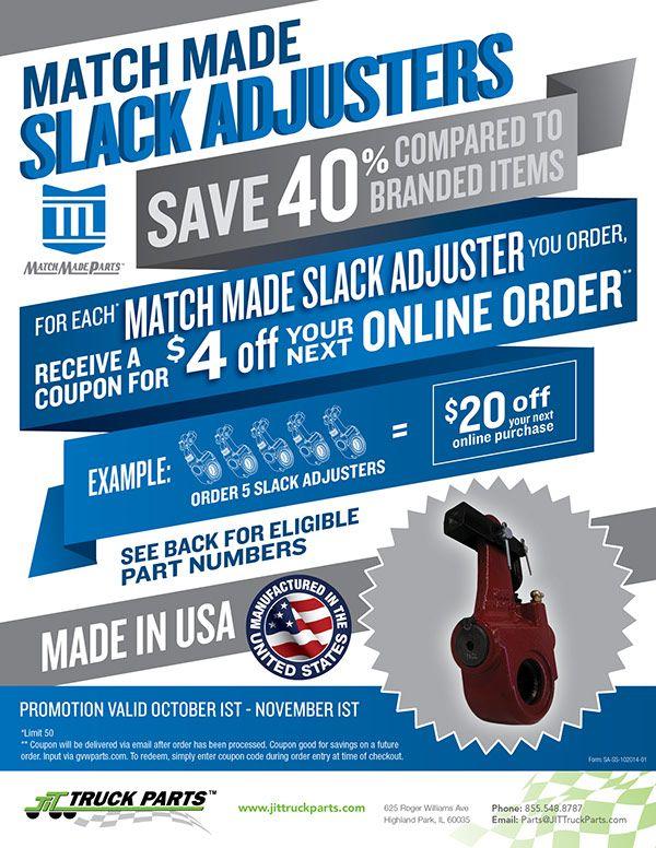 Slack Adjuster Sell Sheet on Behance Slacks, Sold, Sheet