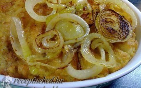Sült krumplikása recept fotóval