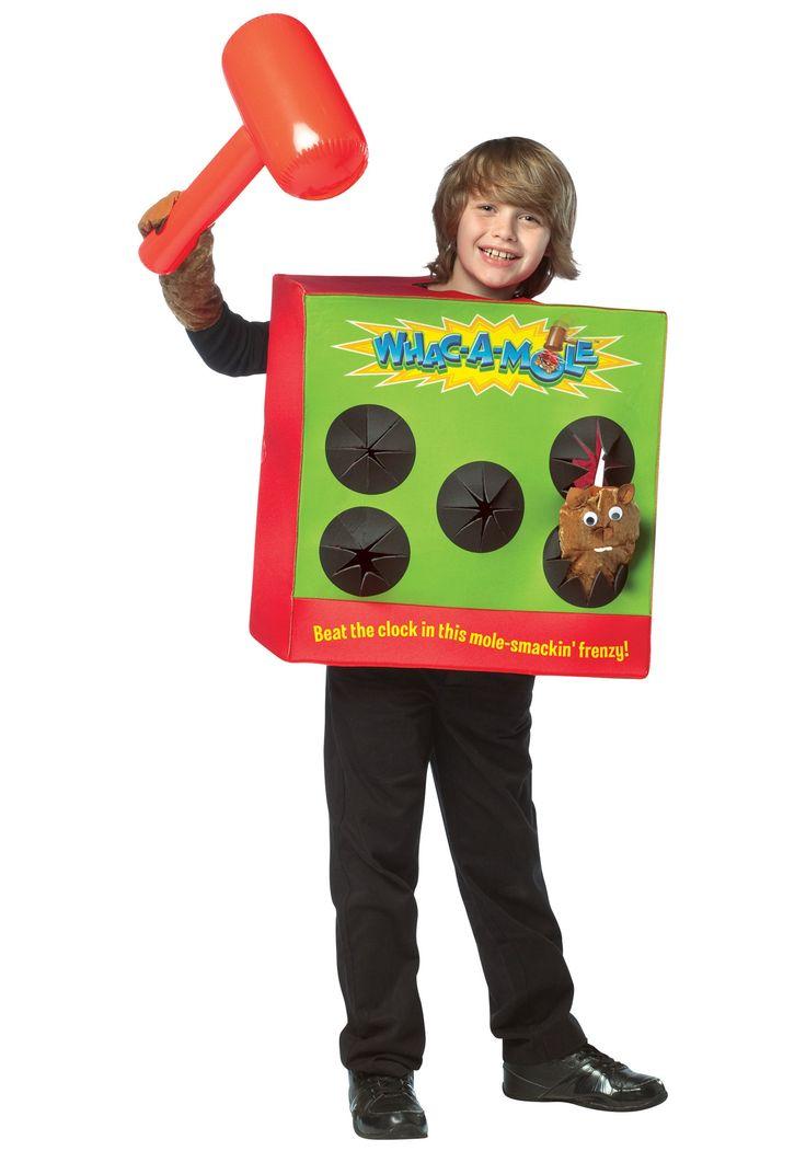 kids whack a mole funny halloween costumes halloween