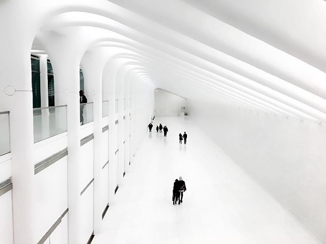 "World Trade Center PATH station ""There are two ways  to live a pleasant life,  either in someone's heart,  or in someone's prayer."" - Imam Ali 
