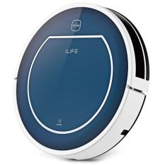 ILIFE V7 Smart Mute Sweeping Robot Automatic Rechargeable Vacuum Cleaner Remote Controlled Dust Cleaning