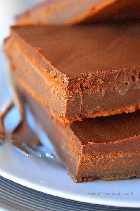 Gâteau mascarpone chocolat de Cyril Lignac