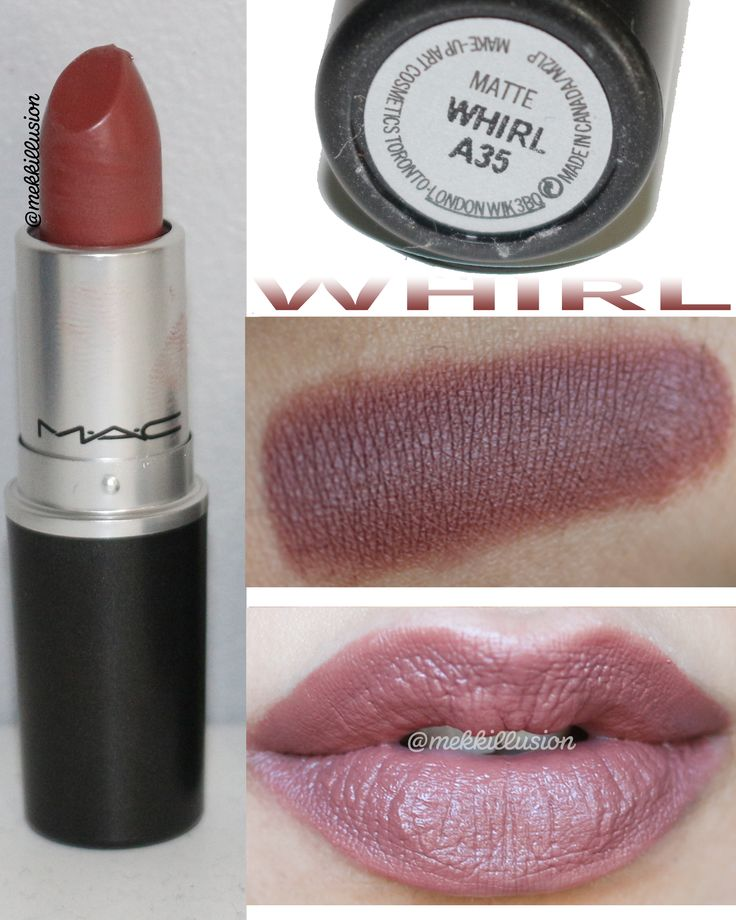 Super Whirl Mac Lipstick NE01 ~ Pineglen EG59
