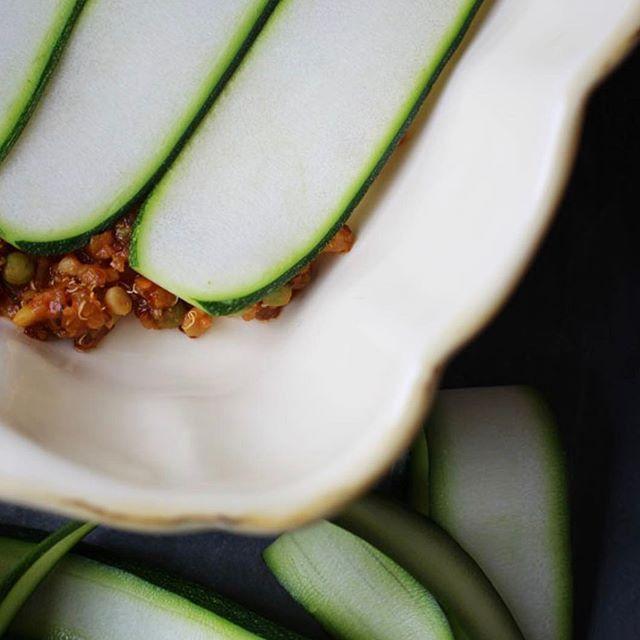 Meine Best-of-Lasagne mit Quinoa, Linsen und Zucchini vom Blog I Carrots for Claire