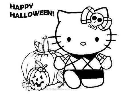 Hello Kitty en halloween