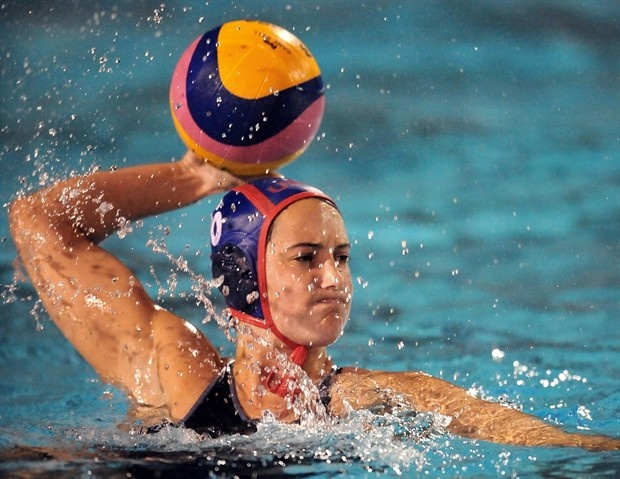 U.S. women's water polo player Maggie Steffens was born in San Ramon, raised in Danville, and currently resides in Seal Beach, Calif.