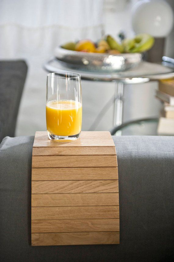 Sofatablet Couchtablet Oakwood Coaster Coasters Solid Oak Oak Wood