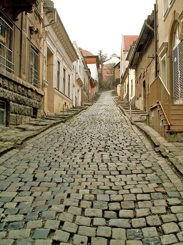 Road to heaven. Gül Baba Steet. Budapest, Hungary