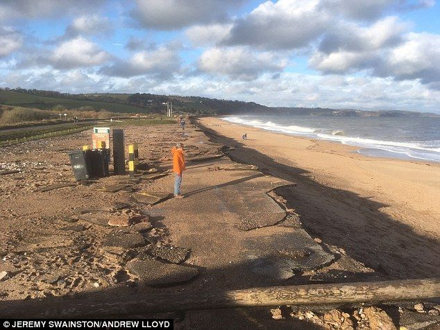 The beach at Slapton Sands was the location for a large-scale rehearsal for the D-Day inva...
