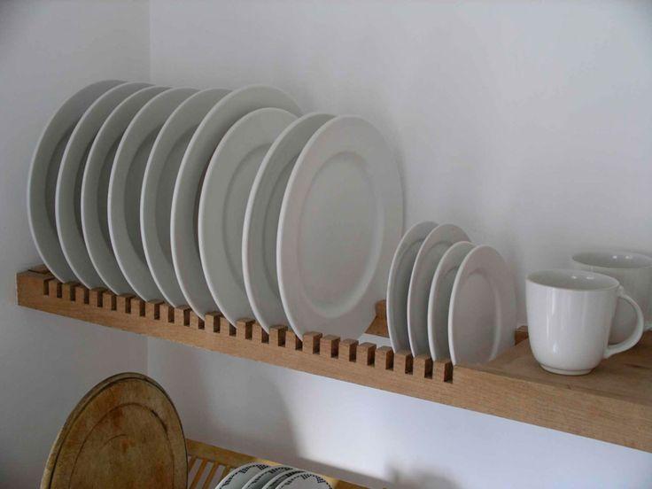 Bespoke plate rack from http://www.peterhendersonfurniture.co.uk