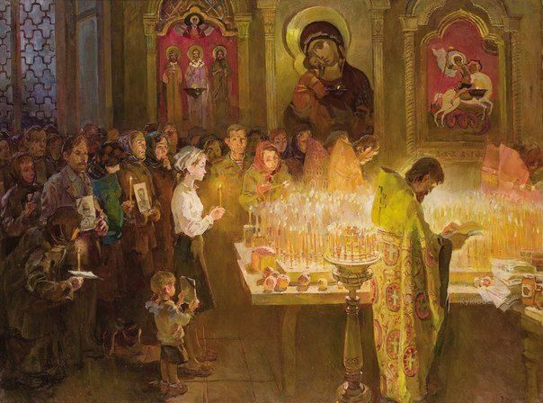 St. John the Forerunner: In and Out ( Church Etiquette )