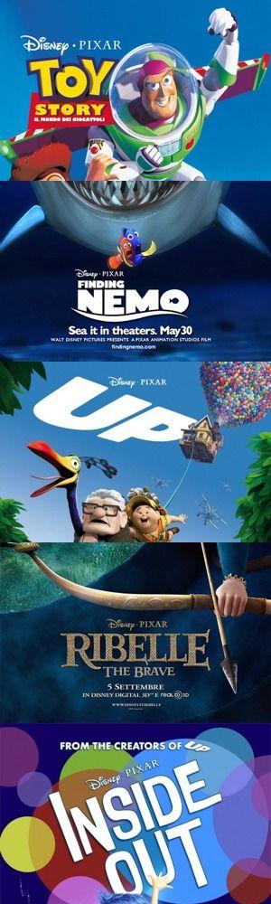 Cinque tra i film Pixar più belli finora